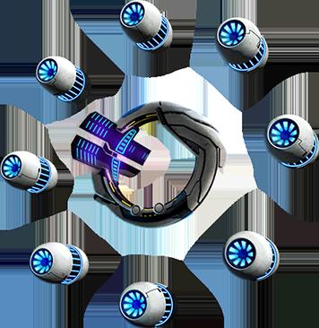 Небесный портал Galaxy Legend